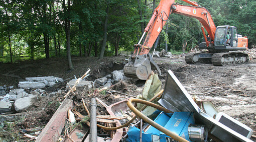 Rivercrest Demolition Photo
